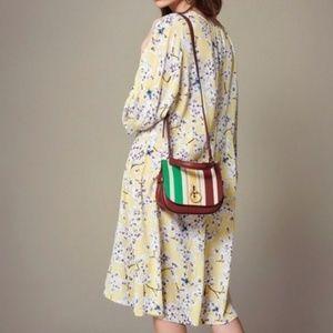4 Anna Glover x H&M Yellow Floral Midi Dress